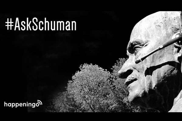 Ask Schuman Live tweet chat