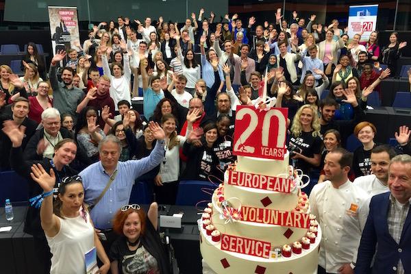 European Voluntary Service's 20th birthday